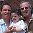 June 2005 with Josh, Gregg and Poppy