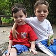 Josh and Max at the Atlanta Zoo
