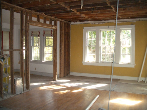 Demo begins, part III:  the dining room