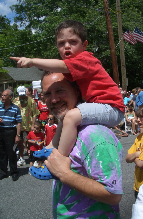 Josh, Noting a Dragon in the Parade