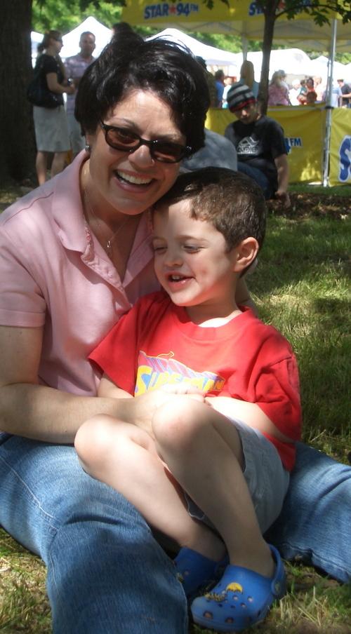 Mom & Josh at the Inman Park Festival