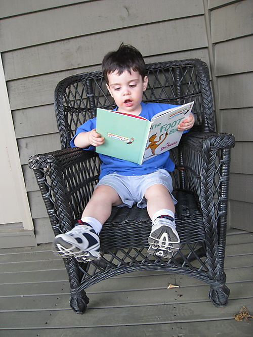 Max Reading (he's only TWO!)
